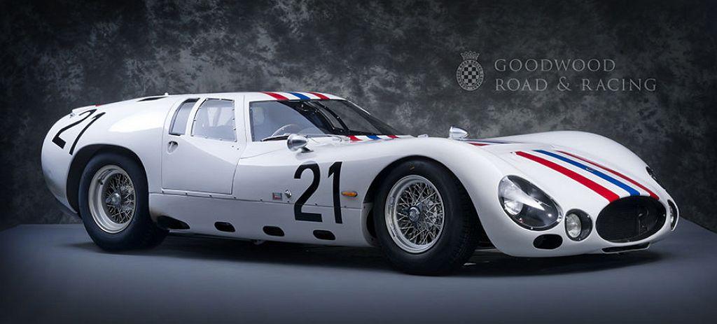 VOITURE MASERATI TIPO 151//3 24 heures du Mans 1964 SIMONE TRINTIGNANT 1//43 EME