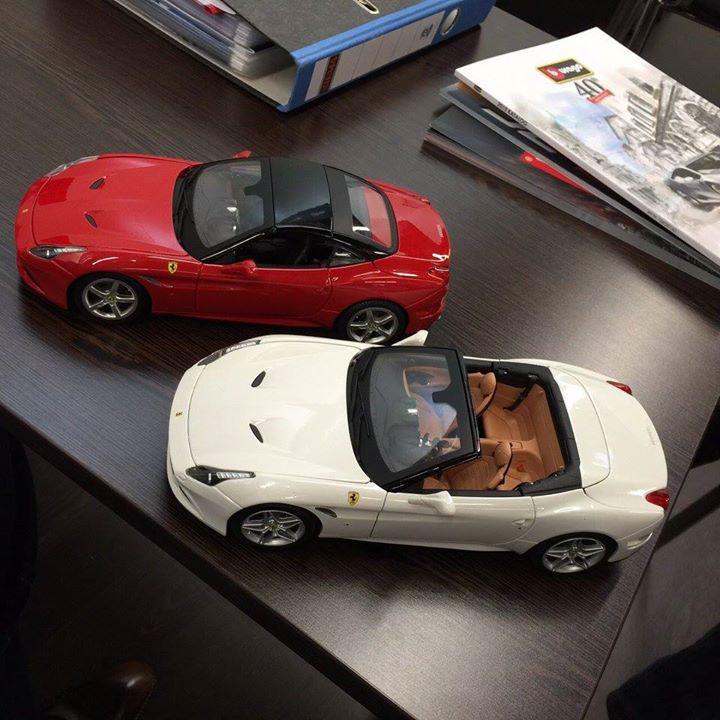 New Bburago Models