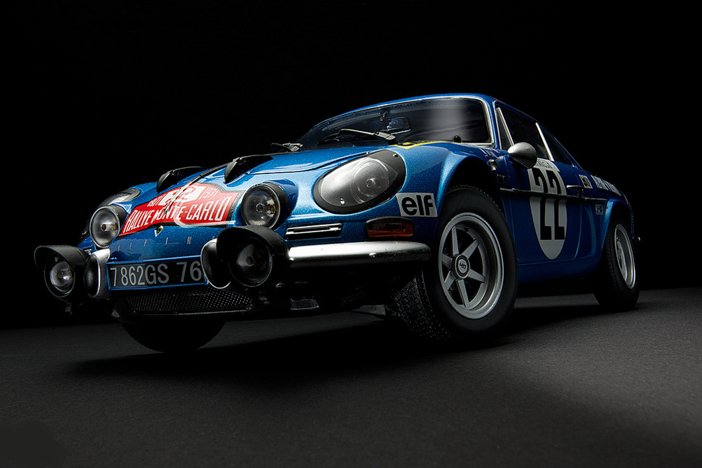 spirit modelcar afficher le sujet renault alpine a110 1971. Black Bedroom Furniture Sets. Home Design Ideas
